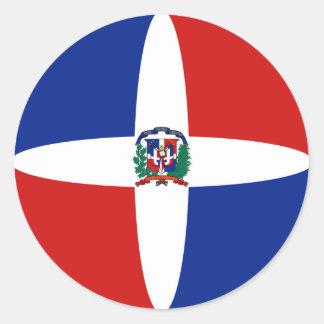 Autocollant de drapeau de Fisheye de la République