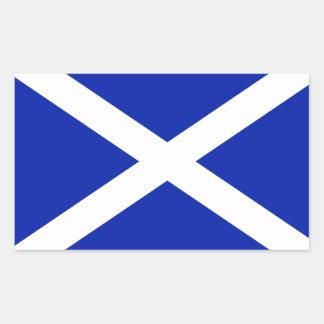 Autocollant de drapeau de l Ecosse