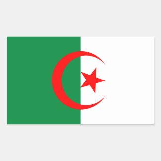 Autocollant de drapeau de l'Algérie