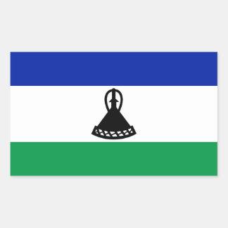 Autocollant de drapeau de Lesotho*