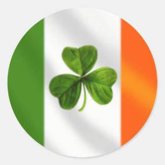 Autocollant de drapeau de l'Irlande