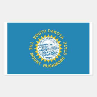 Autocollant de drapeau d'état du Dakota du Sud - 4