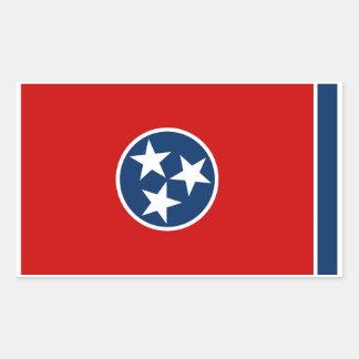 Autocollant de drapeau d'état du Tennessee - 4 par