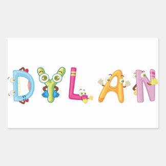 Autocollant de Dylan