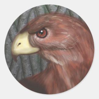 Autocollant de faucon