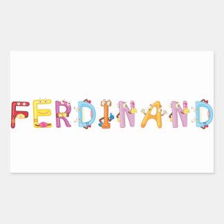 Autocollant de Ferdinand