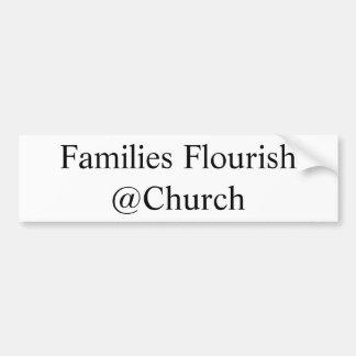 """Autocollant """"de Flourish de familles"""""""