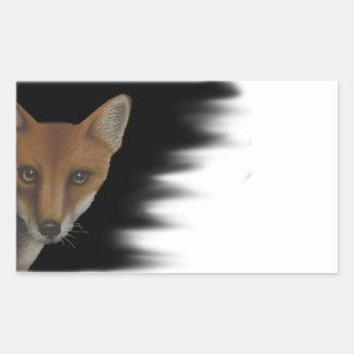 Autocollant de Fox