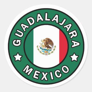 Autocollant de Guadalajara Mexique