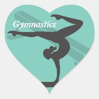 Autocollant de gymnastique de faisceau d'équilibre