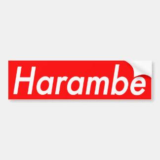 Autocollant de Harambe
