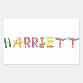 Autocollant de Harriett