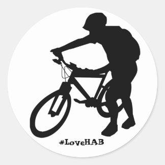 autocollant de Hausse-un-vélo