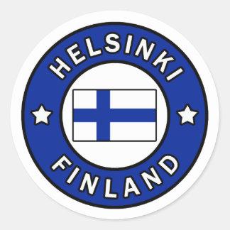 Autocollant de Helsinki Finlande