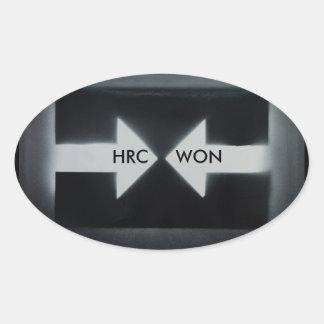 Autocollant de HRC WON/resist