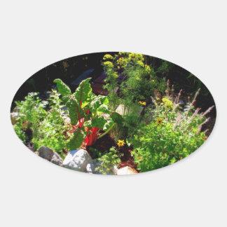 Autocollant de jardin de herbes aromatiques