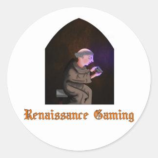Autocollant de jeu de la Renaissance