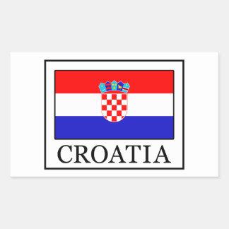 Autocollant de la Croatie