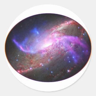 Autocollant de la galaxie une