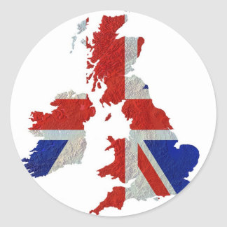 Autocollant de la Grande-Bretagne