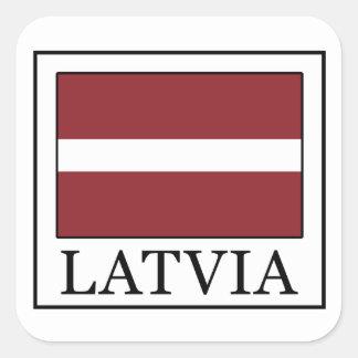 Autocollant de la Lettonie