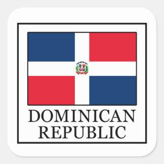 Autocollant de la République Dominicaine