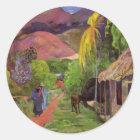 """Autocollant de la """"rue De Tahiti"""" - Paul Gauguin"""