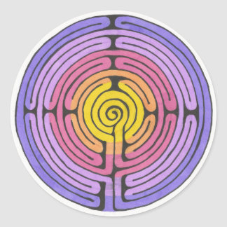 Autocollant de labyrinthe