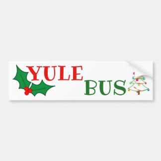 Autocollant de l'arbre 2 de Deco d'autobus de Noël
