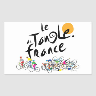 Autocollant de Le Tangle de France (Tour de France