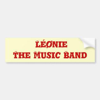 Autocollant de Léønie the music band