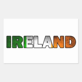 Autocollant de l'Irlande