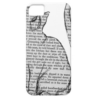 autocollant de livre de lecture de chat coque Case-Mate iPhone 5