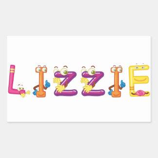 Autocollant de Lizzie
