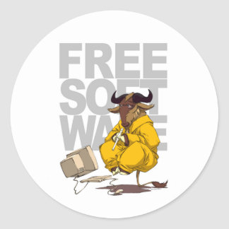 Autocollant de logiciel gratuit de lévitation de