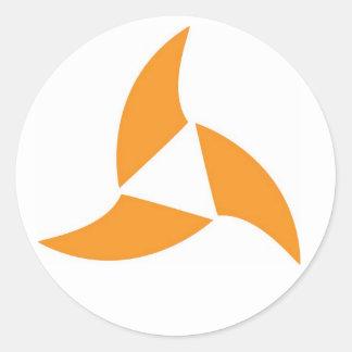 Autocollant de logo de Calavera Surf Company