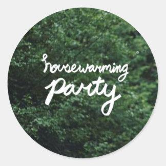 Autocollant de logo de PARTIE de PENDAISON DE