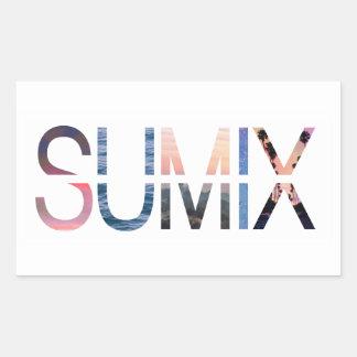Autocollant de logo de Sumix