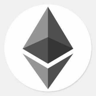Autocollant de logo d'Ethereum