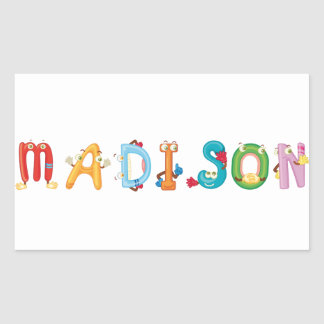 Autocollant de Madison