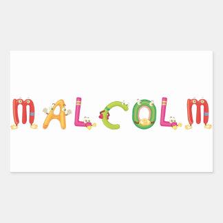 Autocollant de Malcolm