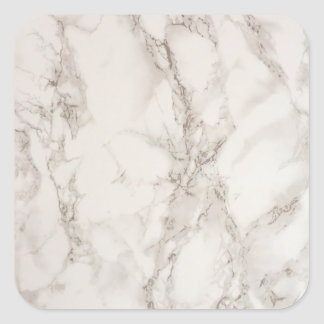 Autocollant de marbre de carré de pierre