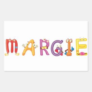 Autocollant de Margie