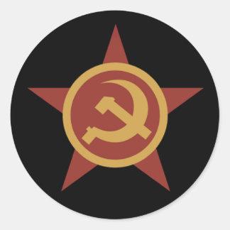 Autocollant de marqueur de pays de l'URSS