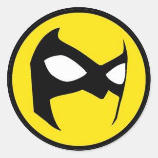 autocollant de Masquerader de 1,5 pouces (placez