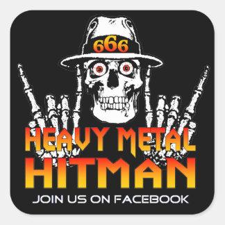 Autocollant de métaux lourds de Hitman