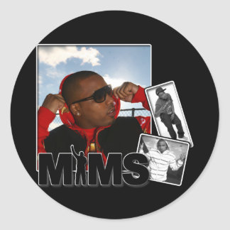 Autocollant de MIMS - album photos