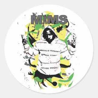 Autocollant de MIMS - éclaboussure - exclusivité