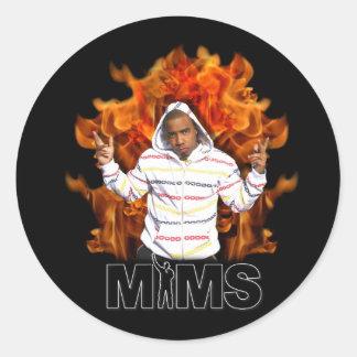 Autocollant de MIMS - flamme éternelle
