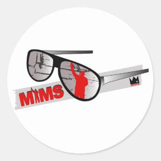 Autocollant de MIMS - nuances - exclusivité